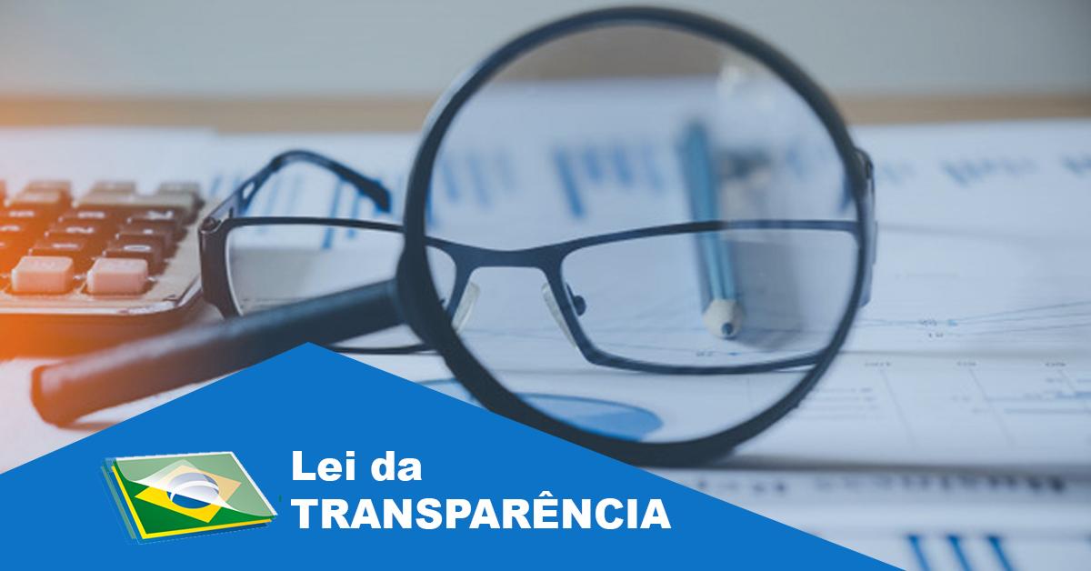 o que é a lei da transparência