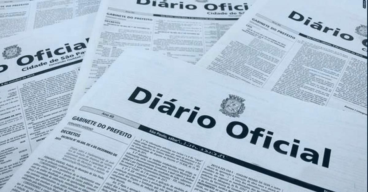 diário oficial sem certificado digital