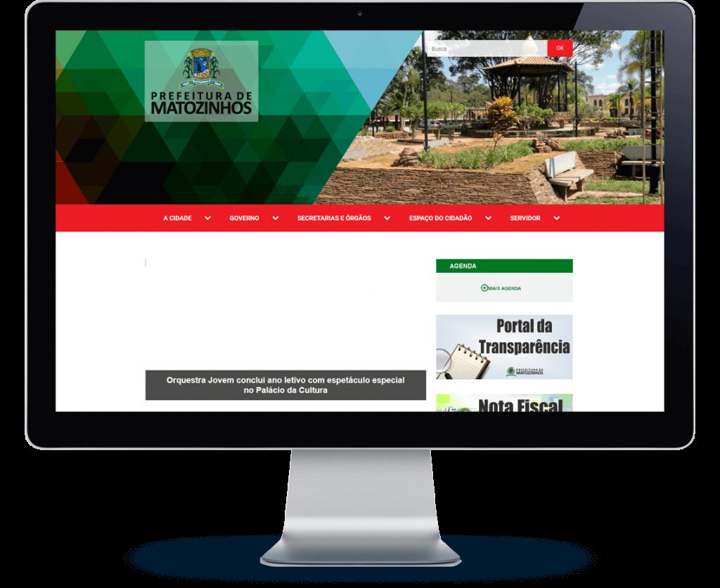 Case Plenus Sistemas Prefeitura de Matozinhos