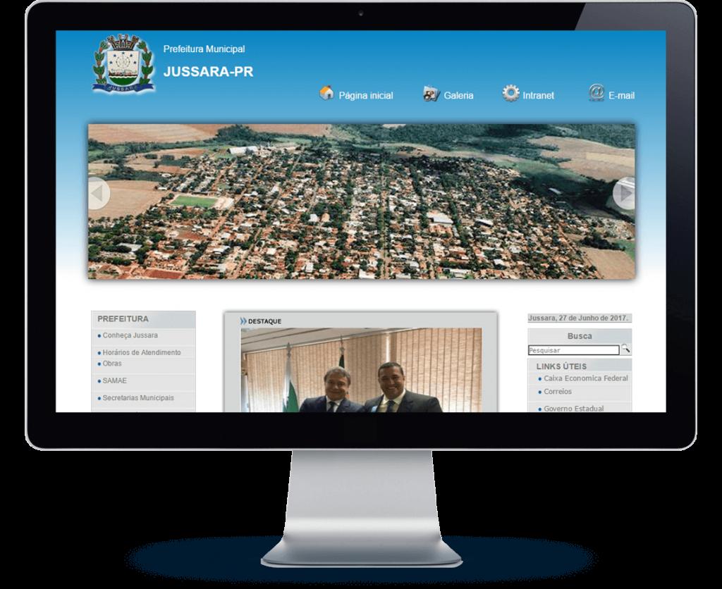 site prefeitura de jussara