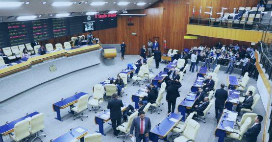 transmissão ao vivo de sessões plenárias