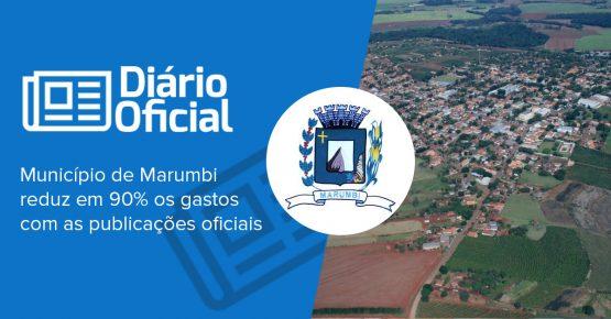 marumbi reduz em 90% os gastos com as publicações oficiais