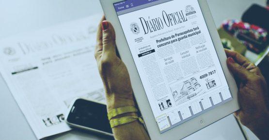 diario oficial impresso